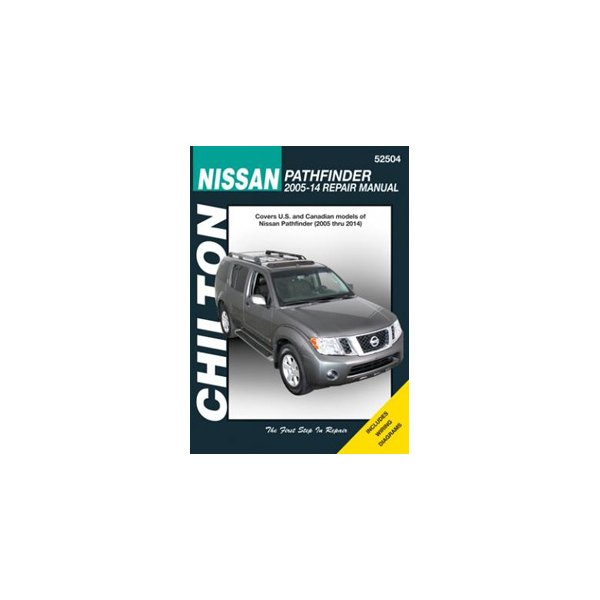 chilton 52504 nissan pathfinder repair manual rh carid com Nissan Manual Transmission Diagram Nissan Engine Diagram