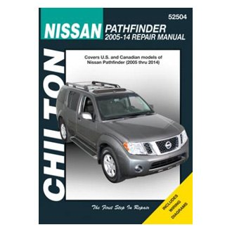 2014 nissan pathfinder auto repair manuals at carid com rh carid com 2004 Nissan Quest Repair Manual Nissan Pathfinder Owner's Manual