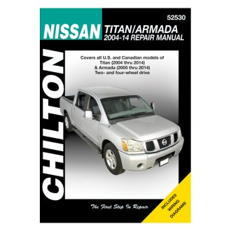 Chilton® - Nissan Titan/Armada Repair Manual