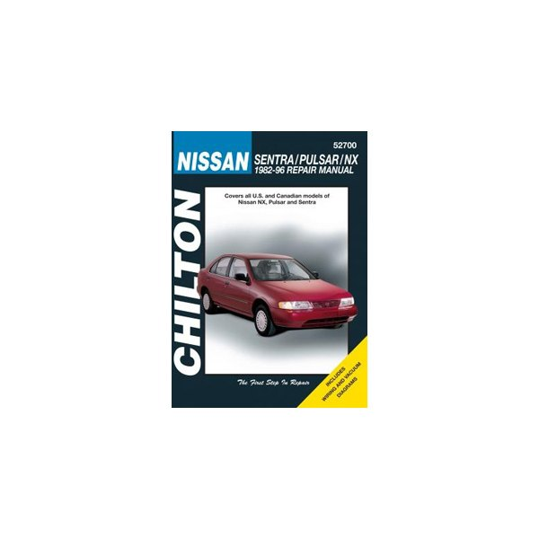 Chilton   52700     Nissan    Sentra   Pulsar      NX       Repair    Manual