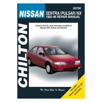 Chilton® - Nissan Sentra/Pulsar/NX Repair Manual