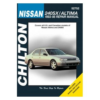 Chilton® - Nissan 240SX/Altima Repair Manual