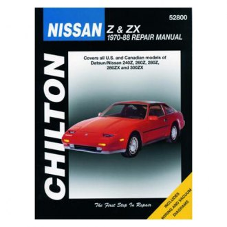 Chilton® - Nissan Z/ZX Repair Manual