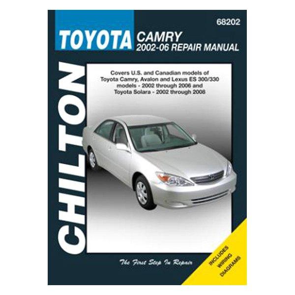 Chilton 174 68202 Toyota Camry Avalon Lexus Es 300 Repair border=