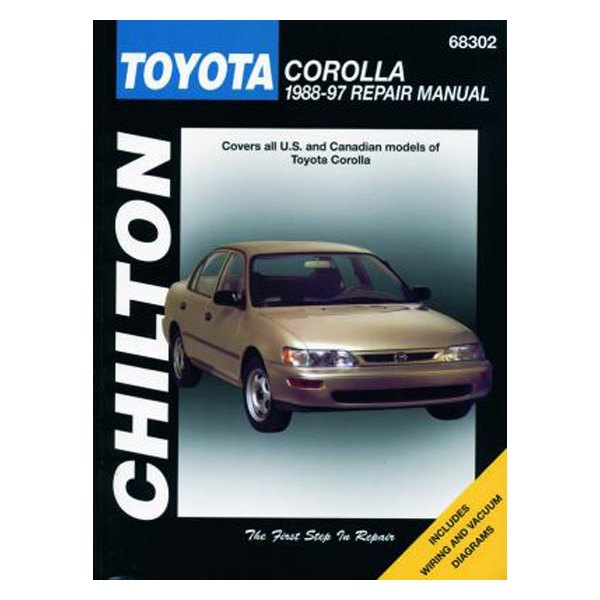 Chilton® - Toyota Corolla Repair Manual