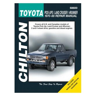Chilton® - Toyota Pick-Ups/Land Cruiser/4Runner Repair Manual