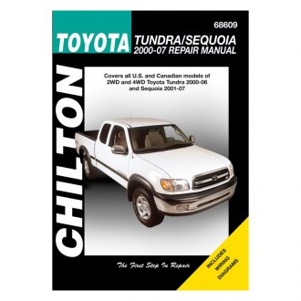 Chilton® - Toyota Tundra/Sequoia Repair Manual
