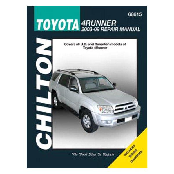 chilton 68615 toyota 4runner repair manual carid com rh carid com 4runner repair manual pdf 4runner repair manual free