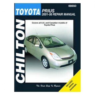 Chilton® - Toyota Prius Repair Manual