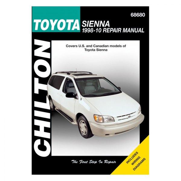 chilton 68680 toyota sienna repair manual rh carid com 2006 toyota sienna factory service manual 2006 toyota sienna factory service manual
