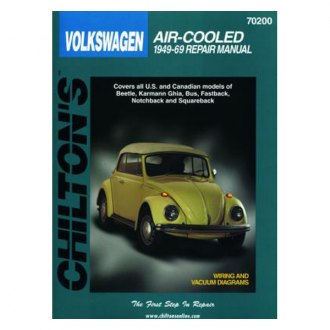 Chilton® - Volkswagen Air-Cooled Models Repair Manual