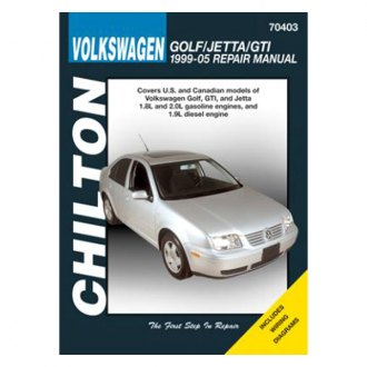 Chilton® - Volkswagen Golf/Jetta/GTI Repair Manual