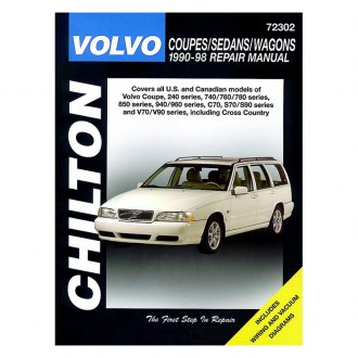 Chilton® - Volvo Coupes/Sedans/Wagons Repair Manual