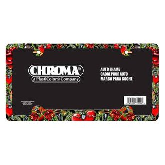 Chroma® - Heart and Dagger Slimline License Plate Frame