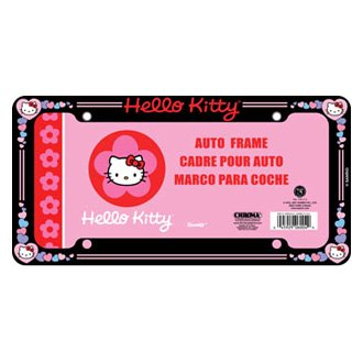 Chroma® - Hello Kitty™ Glitter License Plate Frame