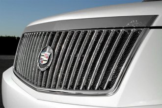 DefenderWorx® - Vertical Style Chrome Billet Grille with Mesh