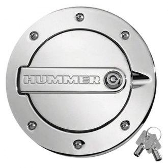 Hummer H3 Chrome Gas Caps Fuel Doors Amp Covers Carid Com