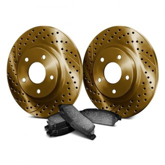 Chrome Brakes® - Drilled and Slotted Brake Kit