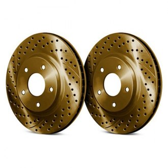 Chrome Brakes® - Drilled and Slotted Brake Rotors