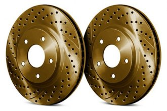 Chrome Brakes® - Drilled and Slotted Rotors