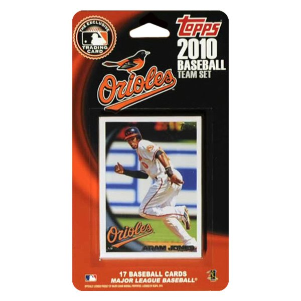 Ci Collectibles Mlb Licensed Topps Team Set And Favorite Player Trading Cards