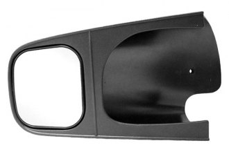 CIPA® 10501 - Driver Side Textured Black Towing Mirror