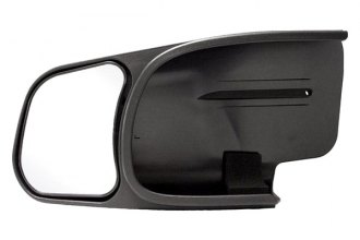 CIPA® 10801 - Driver Side Textured Black Towing Mirror