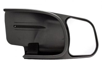 CIPA® - Passenger Side Textured Black Towing Mirror