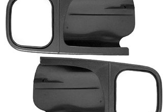 CIPA® - Driver and Passenger Side Textured Black Towing Mirror