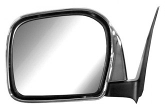 CIPA® 17471 - Original Style Driver Side Black Power Replacement Mirror (Foldaway, Non-Heated, Flat Lens)