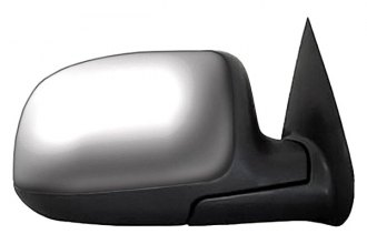 CIPA® 27375 - Original Style Passenger Side Bright Chrome Power Replacement Mirror (Foldaway, Non-Heated, Convex Lens)