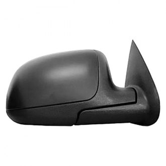 CIPA® - Black Capped Passenger Side Original Style Replacement Mirror