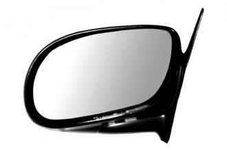 CIPA® - Original Style Driver Side Gloss Black Replacement Mirror