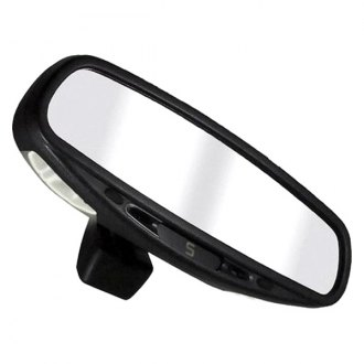 CIPA® - Wedge Base Auto Dimming Mirror with Compass and Map Lights