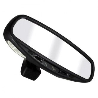 CIPA® - Wedge Base Auto Dimming Mirror with Compass, Temperature, and Map Lights