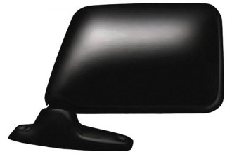 CIPA® 42000 - Original Style Driver Side Textured Black Manual Replacement Mirror (Non-Foldaway, Non-Heated, Flat Lens)