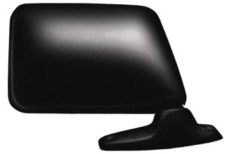 CIPA® 42100 - Original Style Passenger Side Textured Black Power Replacement Mirror (Foldaway, Non-Heated, Convex Lens)
