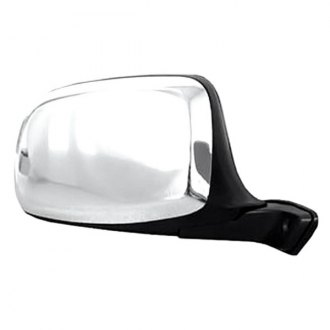 CIPA® - Chrome Skull Cap Passenger Side Original Style Replacement Mirror