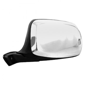 CIPA® - Chrome Skull Cap Driver Side Original Style Replacement Mirror