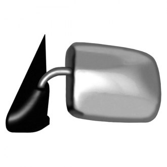 CIPA® - Chrome with Black Base Driver Side Original Style Replacement Mirror