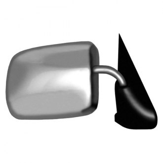 CIPA® - Chrome with Black Base Passenger Side Original Style Replacement Mirror