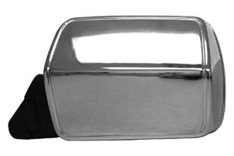CIPA® - Original Style Driver Side Bright Chrome Replacement Mirror
