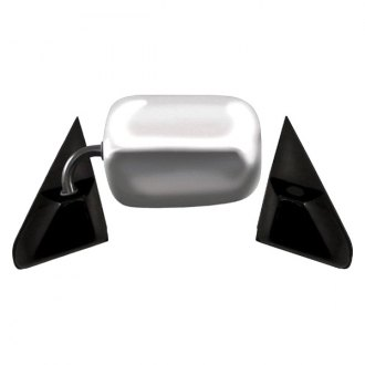 CIPA® - Original Style Bright Chrome with Black Base Replacement Mirror