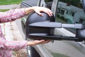 CIPA® - Driver and Passenger Side Magna Extendable Repalcement Towing Mirrors