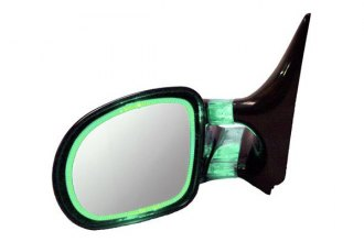 CIPA® - Optic Glow Driver and Passenger Side Green Replacement Mirrors