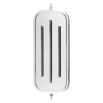 CIPA® - 3mm Ribbed-Back White OEM Style Replacement West Coast Mirror Head