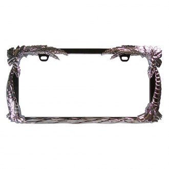 "CIPA® - License Plate Frame with ""Ocean Breeze"""