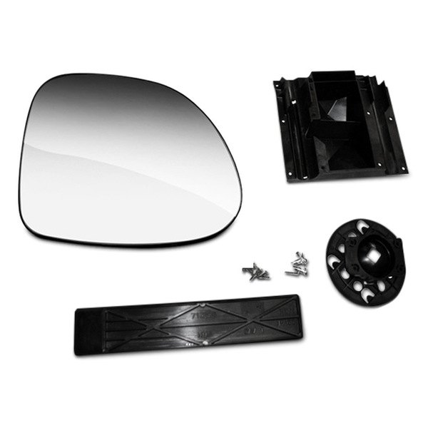 CIPA® - Passenger Side Magna Extendable Replacement Non-Heated Mirror Glass