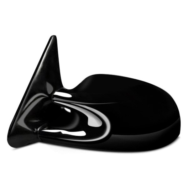 CIPA® - Driver and Passenger Side Gloss Black Optic Sport Non-Heated Mirrors