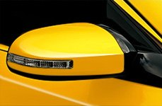 CIPA® Yellow Side Mirror with Turn Light